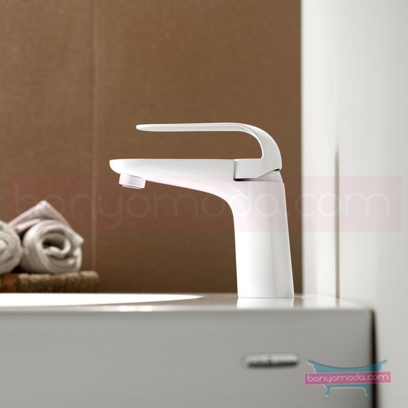 Artema Style X Lavabo Bataryası, Beyaz A4017099 Standart Lavabo Bataryası