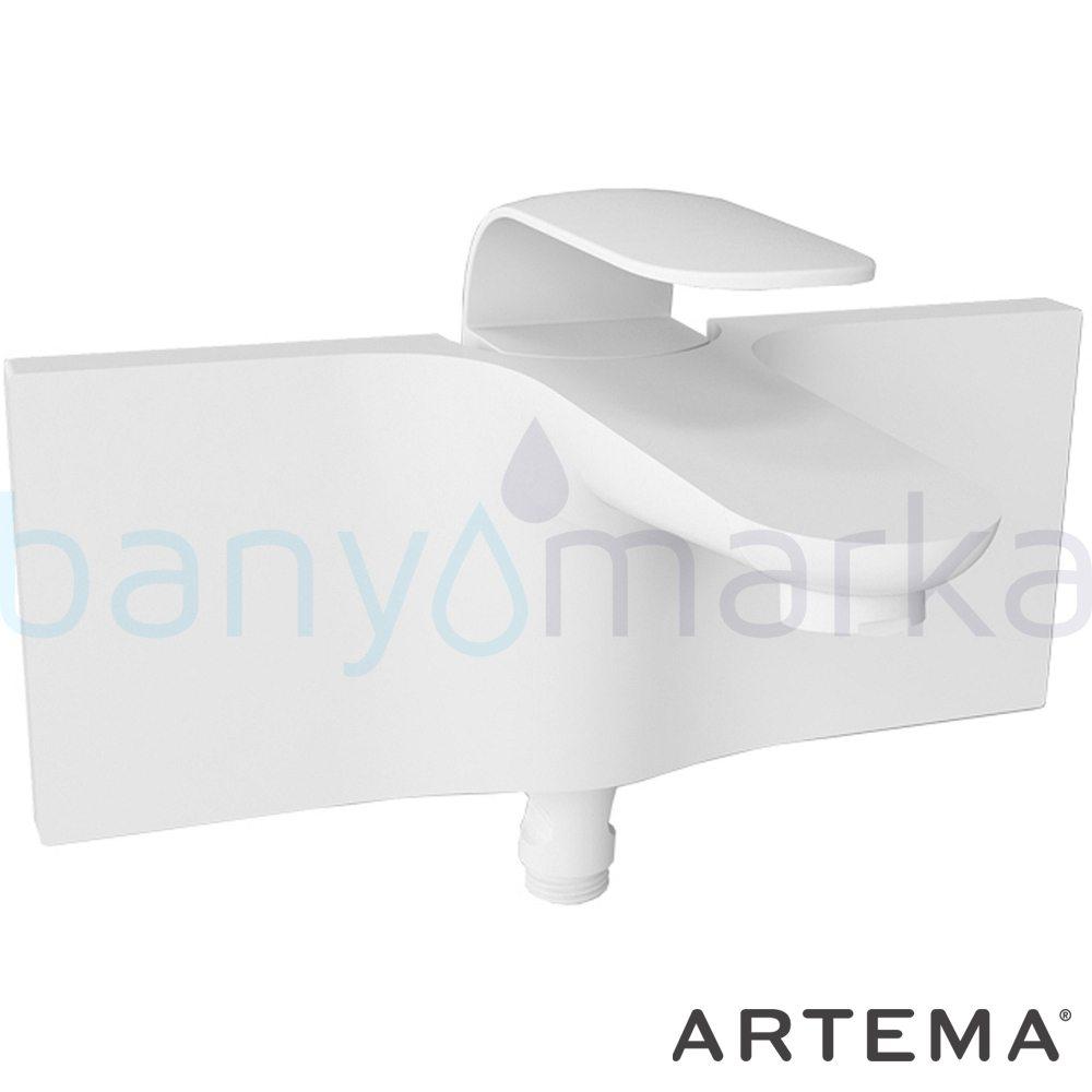 """Artema Style X Banyo Bataryası - A40171 kireç kırıcılı ısı ve debi ayarlı su ve enerji tasarruflu """"Devamlılık"""" ve """"bütünlük"""" düşüncesinden doğan bir armatür. ezber bozan kusursuz tasarımıyla banyonuza devamlılık ve bütünlük katar"""