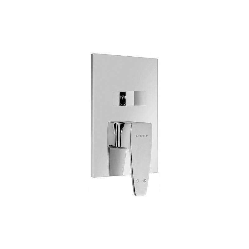 Artema Q-Line Ankastre Banyo Bataryası (Sıva Üstü Grubu) A40545 Ankastre Banyo Bataryası
