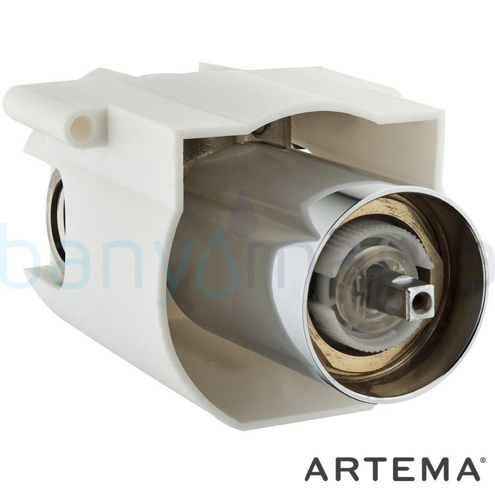 Artema T4 Ankastre Duş Bataryası (Sıva Altı Grubu), Beyaz A4063999 Ankastre Duş Bataryası