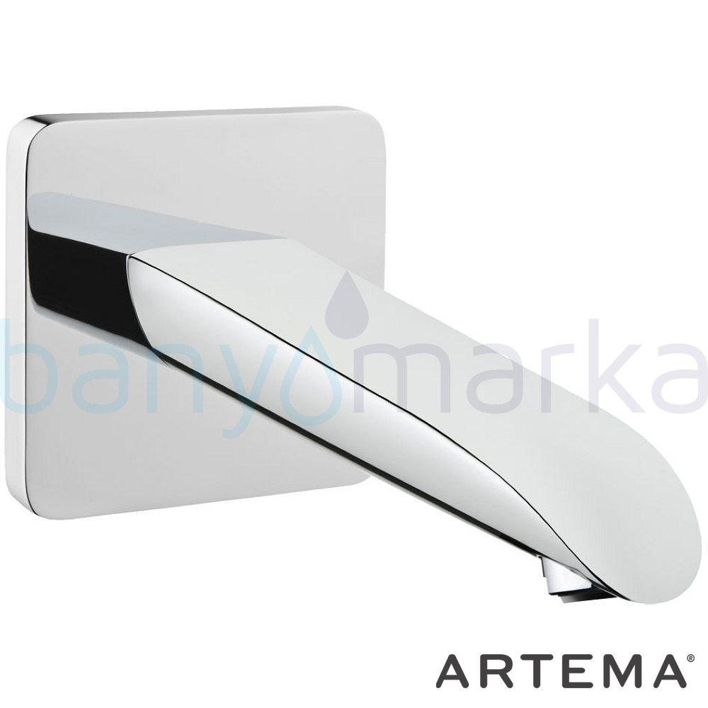 Artema T4 Çıkış Ucu - A40647 kireç kırıcılı suyun doğal akışının önem kazandığı Noa tasarımlı armatür
