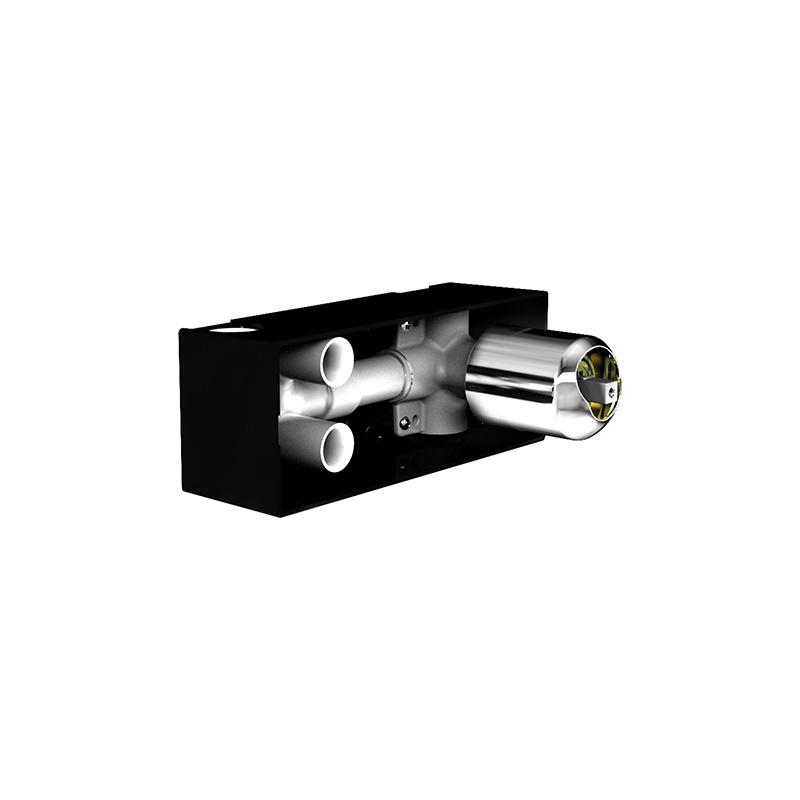 Artema Style X Ankastre Banyo Bataryası-3 Yollu / Ankastre Duş Bataryası-2 Yollu, Beyaz A4067199 Ankastre Banyo Bataryası