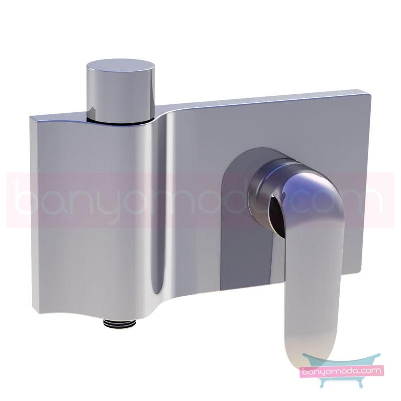 Artema Style X Ankastre Duş Bataryası-2 Yollu Yönlendiricili (Sıva Üstü Grubu) A40675 Ankastre Duş Bataryası