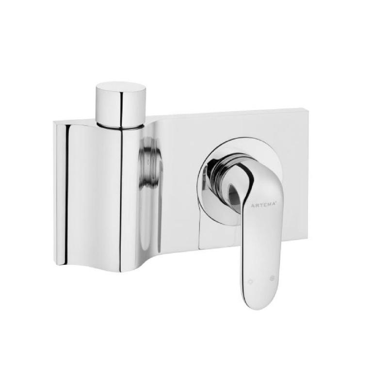 Artema Style X Ankastre Duş Bataryası-2 Yollu Yönlendiricili (Sıva Üstü Grubu), Beyaz A4067599 Ankastre Duş Bataryası