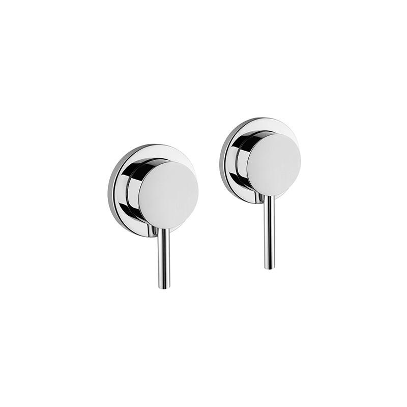 Artema Pure Ankastre Banyo Bataryası (2 Yollu Yönlendiricili) (Sıva Üstü Grubu) - A40680 özelliklerinin yanı sıra yalın ve kusursuz tasarımıyla banyonuz estetik görünüme kavuşur
