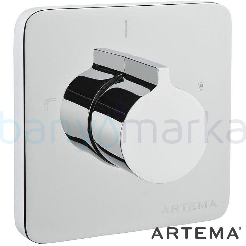 Artema T4 Ankastre 3 Yollu Yönlendirici (Sıva Üstü Grubu) A40696 Yönlendirici