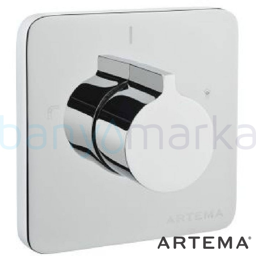 Artema T4 Ankastre 3 Yollu Yönlendirici (Sıva Üstü Grubu) - A40696 suyun doğal akışının önem kazandığı Noa tasarımlı armatür