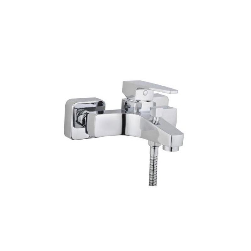 Artema Q-Line Banyo Bataryası - A40778 ısı ve debi ayarlı su ve enerji tasarruflu köşeli hatlarıyla farklılaşan armatür birçok lavabo ile uyum sağlıyor