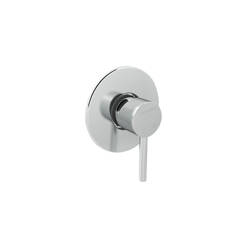 Artema Minimax S Ankastre Duş Bataryası (Sıva Üstü Grubu) A40793 Ankastre Duş Bataryası