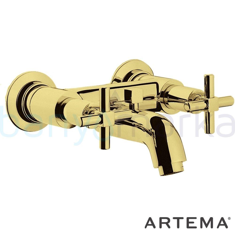 Artema Juno Banyo Bataryası - A40868 90 derece açma kapama farklı geometrik ve özgün tasarımıyla banyonuz göz okşayıcı görünüme kavuşur