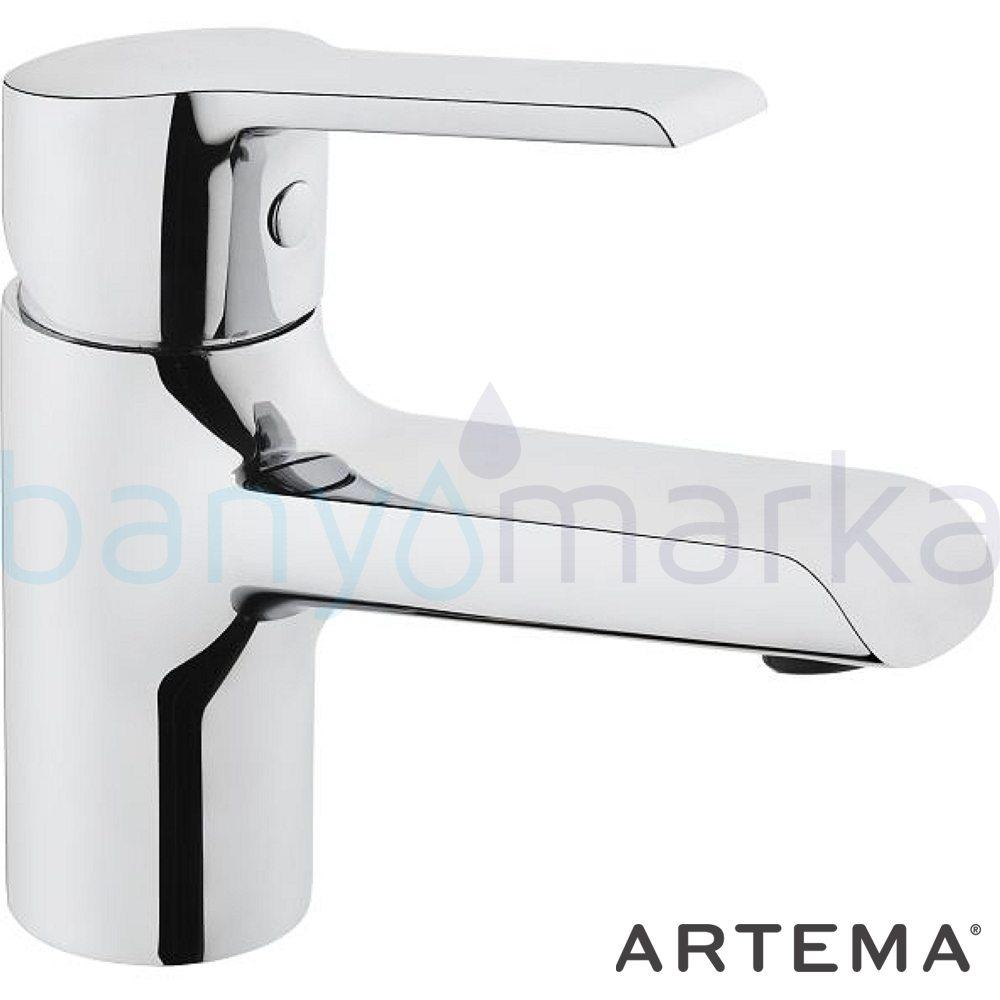 Artema Axe S Lavabo Bataryası - A41069 ısı ve debi ayarlı su ve enerji tasarruflu sağlam estetik ve ekonomik armatür