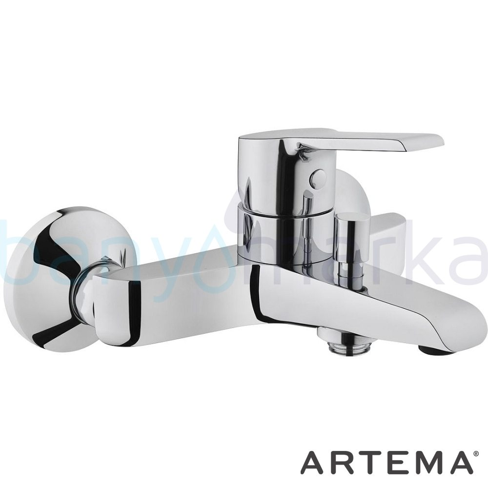 Artema Axe S Banyo Bataryası A41070 Standart Banyo Bataryası