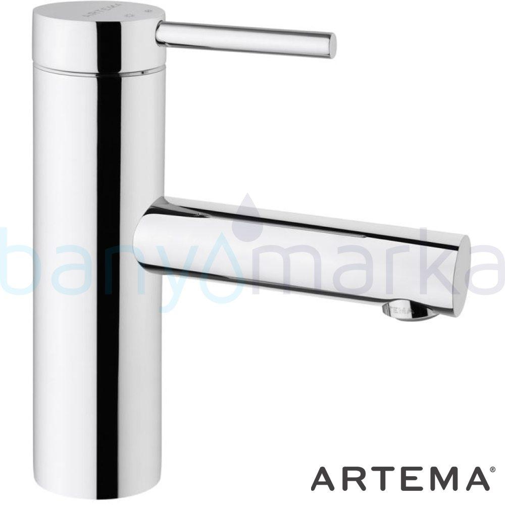 Artema Pure Lavabo Bataryası - A41260 ısı ve debi ayarlı su ve enerji tasarruflu özelliklerinin yanı sıra yalın ve kusursuz tasarımıyla banyonuz estetik görünüme kavuşur