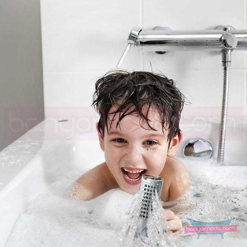 Artema Pure Banyo Bataryası - A41262 kireç kırıcılı ısı ve debi ayarlı su ve enerji tasarruflu özelliklerinin yanı sıra yalın ve kusursuz tasarımıyla banyonuz estetik görünüme kavuşur