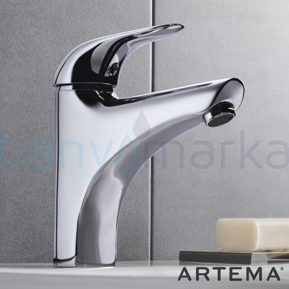 Artema Ares Lavabo Bataryası (Yüksek) - A41632 ısı ve debi ayarlı su ve enerji tasarruflu zarafet ve güç arasındaki dengeyi ergonomiyle bütünleştirmiş ekonomik armatür
