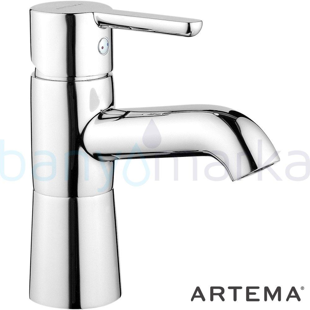 Artema Matrix Lavabo Bataryası - A41753 ısı ve debi ayarlı su ve enerji tasarruflu banyoda alışılagelmiş sınırları ortadan kaldıran şık tasarımlı armatür