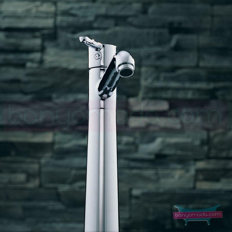 Artema Matrix Lavabo Bataryası (Yüksek) - A41759 ısı ve debi ayarlı su ve enerji tasarruflu banyoda alışılagelmiş sınırları ortadan kaldıran şık tasarımlı armatür