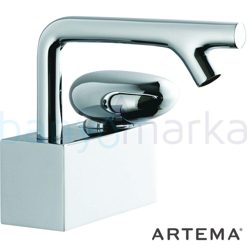 Artema İstanbul Lavabo Bataryası - A41826 sıradışı dizaynı ileri teknolajisiyle ünlü tasarımcı Ross Lovegrove özel serisinden