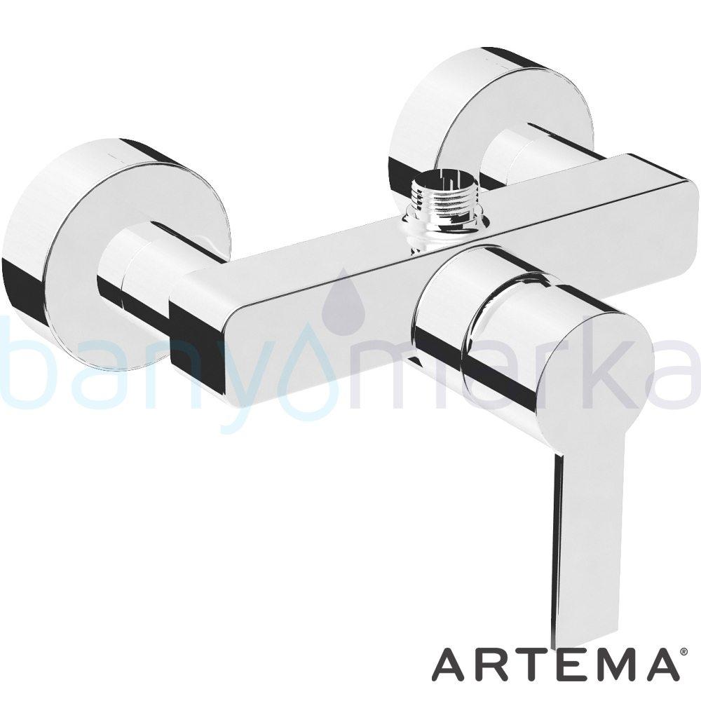 Artema Flo S Duş Bataryası A41938 Standart Duş Bataryası