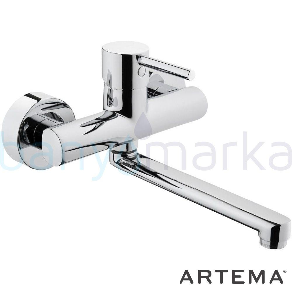Artema Minimax S Eviye Bataryası (Duvardan) A42095 Duvardan Eviye Bataryası