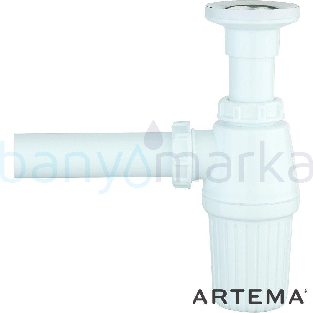 Artema Plastik Lavabo Sifonu Seti A45109 Sifon