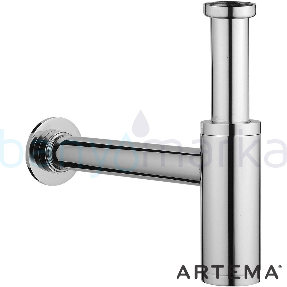 Artema Lavabo Sifonu Alt Grubu (T Tipi) - A45123 armatür ve batarya tamamlayıcı üründür
