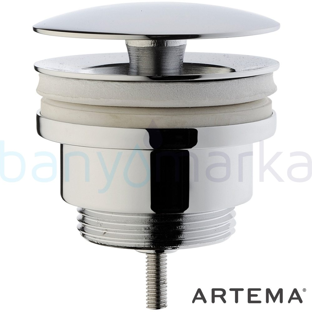 Artema Lavabo Yuvarlak Süzgeci (Universal-Sabit) A45148 Sifon
