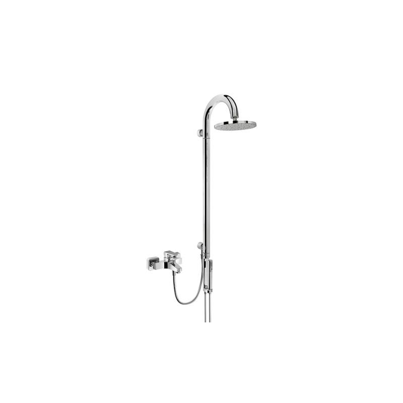 Artema System Drop CS50 Duş Kolonu - A45599 2 Fonksiyonlu su tasarrufu mafsallı  tarafından tasarlanan sıva altı montaj yapılmadan kullanılan şık tasarımlı duş kolonu