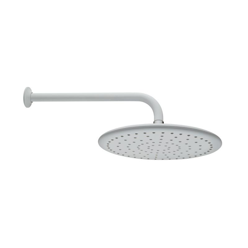 Artema Curve Duş Başlığı (Duvardan), Beyaz - A4560799 Tek fonksiyonlu Aquarain su tasarrufu kireç kırıcılı mafsallı  tarafından tasarlanan özelliklerinin yanı sıra yalın ve kusursuz tasarımıyla banyonuz estetik görünüme kavuşur
