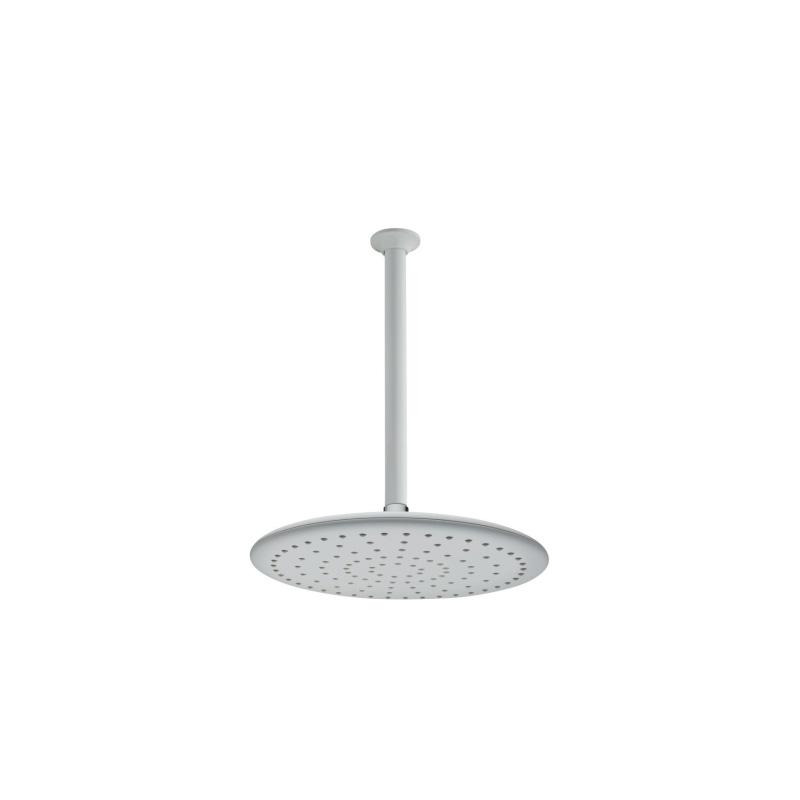 Artema Curve Duş Başlığı (Tavandan), Beyaz - A4560899 Tek fonksiyonlu Aquarain su tasarrufu kireç kırıcılı mafsallı  tarafından tasarlanan yağmurda yürüyomuş etkisi yaratan rahatlamanızı sağlayan tavandan duş başlığı