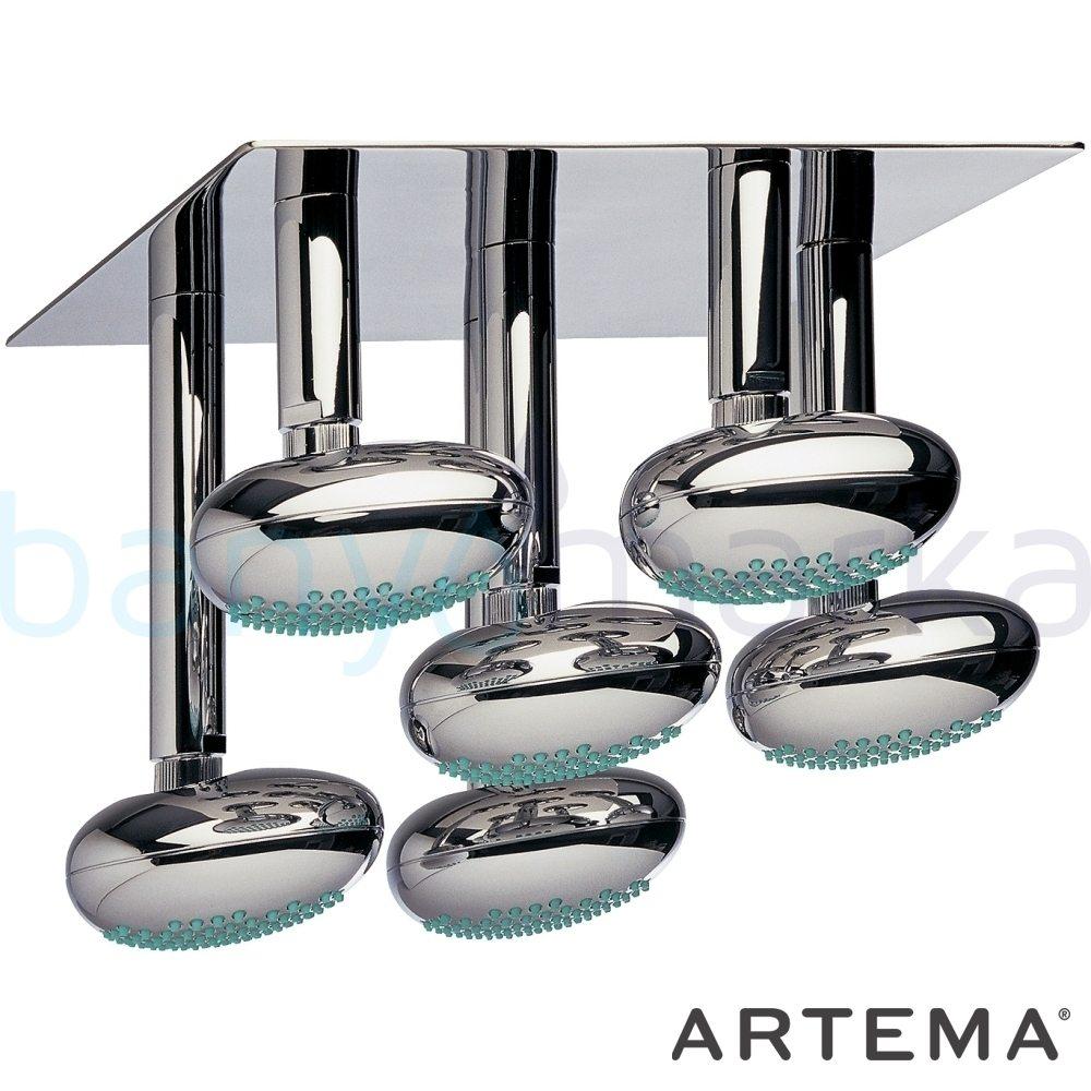 Artema İstanbul Duş Başlığı (Tavandan), Beyaz A4802399 Tavandan Duş Başlığı