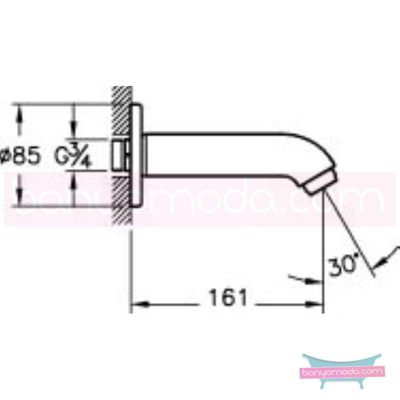 Artema Çıkış Ucu - A40571 armatür ve batarya tamamlayıcı üründür