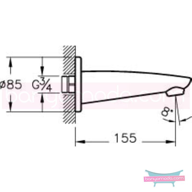 Artema Çıkış Ucu - A40594 armatür ve batarya tamamlayıcı üründür