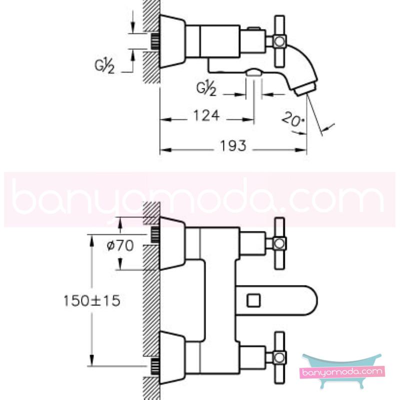 Artema Juno Banyo Bataryası, Altın - A4086823 90 derece açma kapama farklı geometrik ve özgün tasarımıyla banyonuz göz okşayıcı görünüme kavuşur