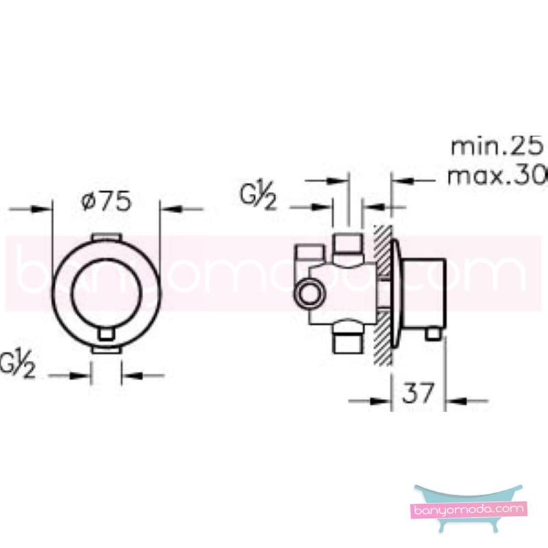 Artema 4 Yollu Yönlendirici - A41651 armatür ve batarya tamamlayıcı üründür