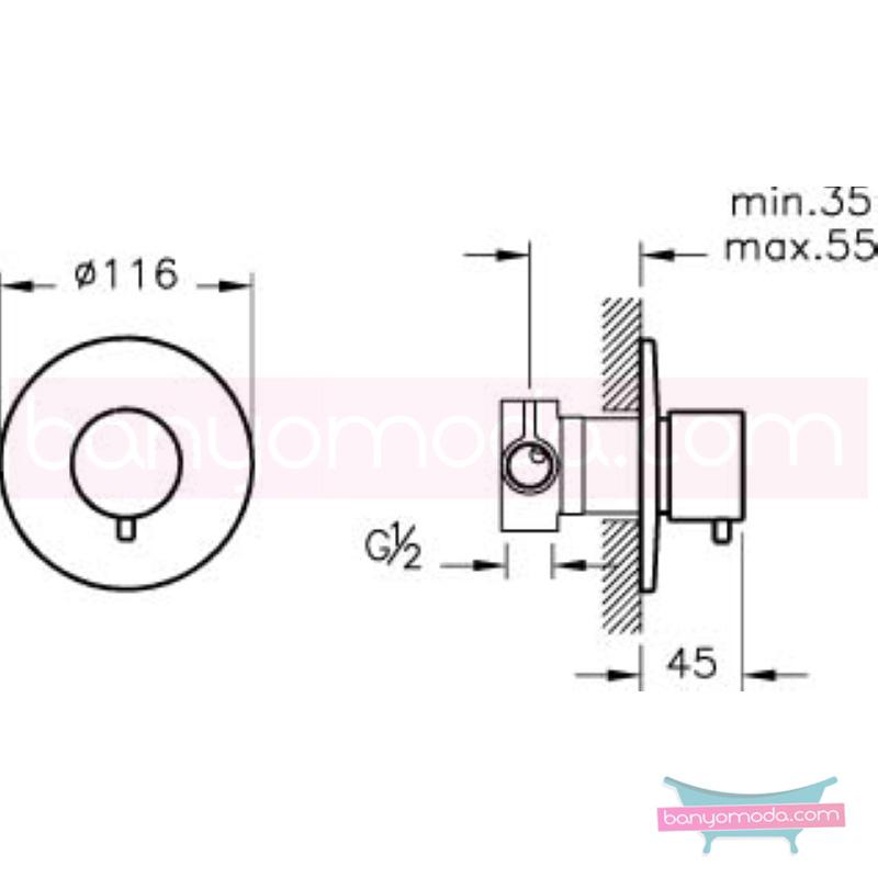 Artema 4 Yollu Yönlendirici - A41655 armatür ve batarya tamamlayıcı üründür