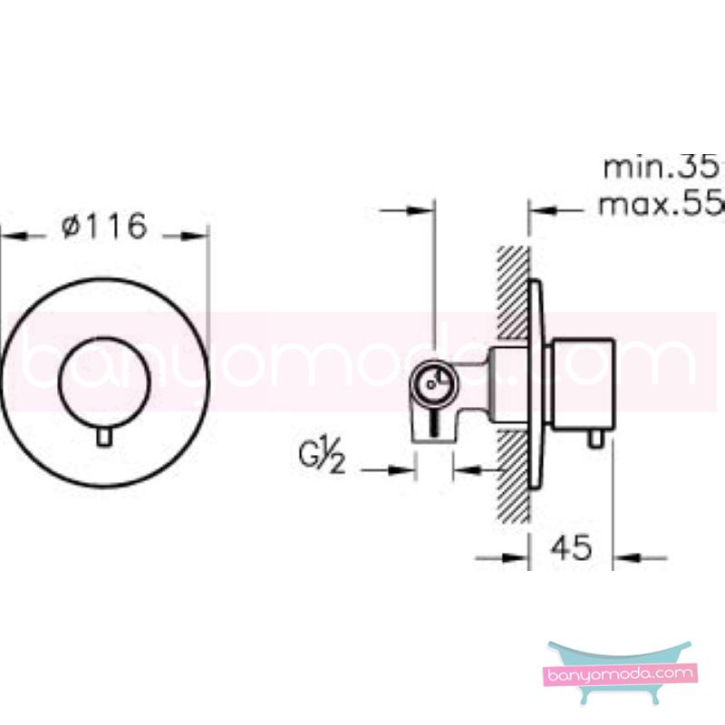 Artema 2 Yollu Yönlendirici - A41656 armatür ve batarya tamamlayıcı üründür