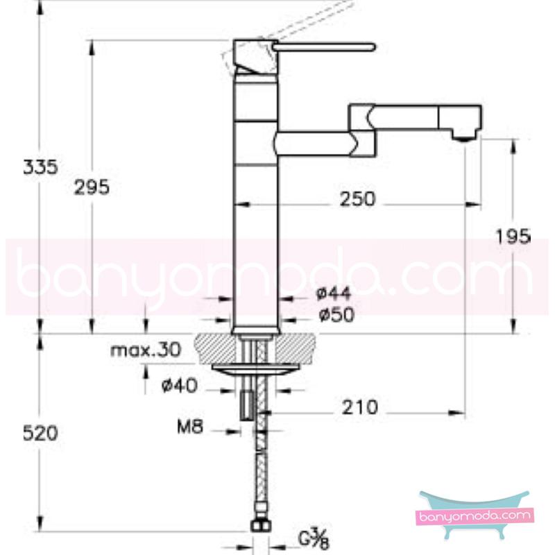 Artema C-Line Eviye Bataryası - A42094 ısı ve debi ayarlı su ve enerji tasarruflu bataryayı özel kılan incelikli detaylarıyla tasarrufu ön plana çıkarır