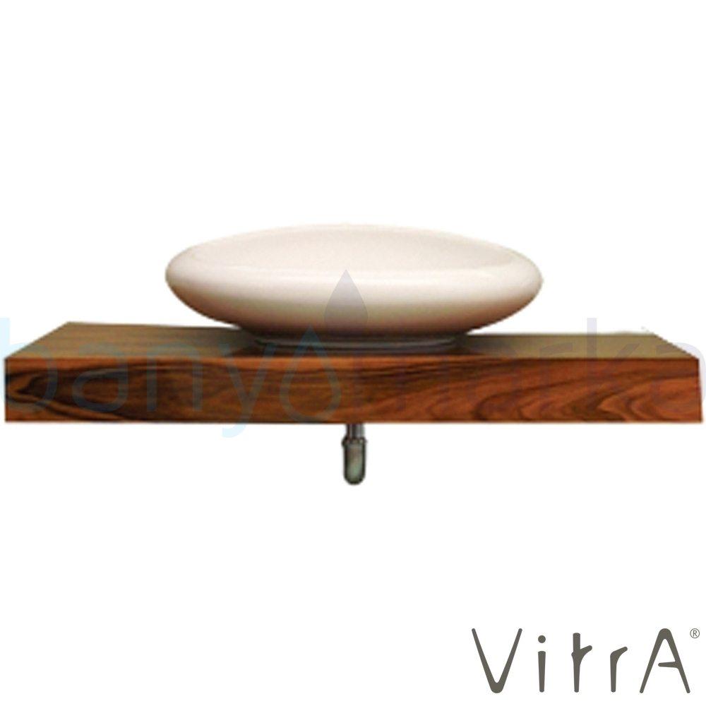 Vitra Options Lux Tezgah, 60 cm, Amerikan Ceviz 51397 Lavabo Dolabı