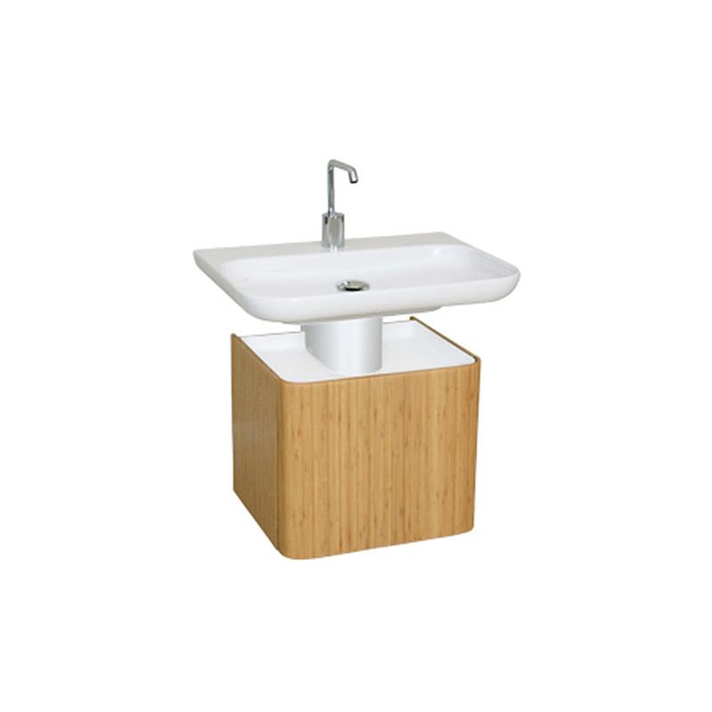 Vitra Mod Lavabo Dolabı, 45 cm, Parlak Beyaz (Lavabo Dahil) 51968 Lavabo Dolabı