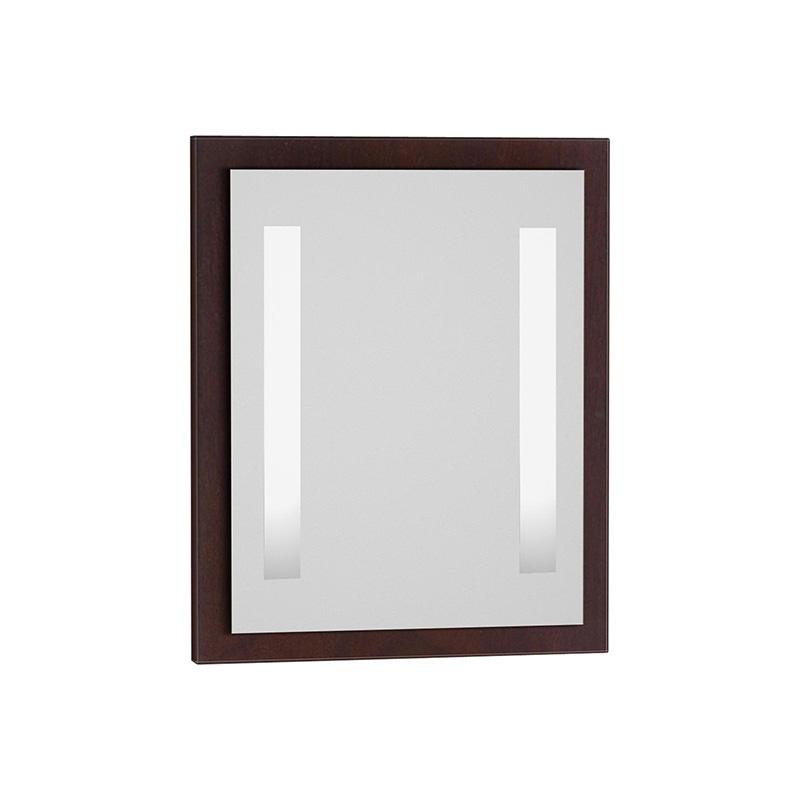 Vitra Espace Aydınlatmalı Ayna, 65 cm, Kızıl Ceviz 52171 Ayna / Dolaplı Ayna