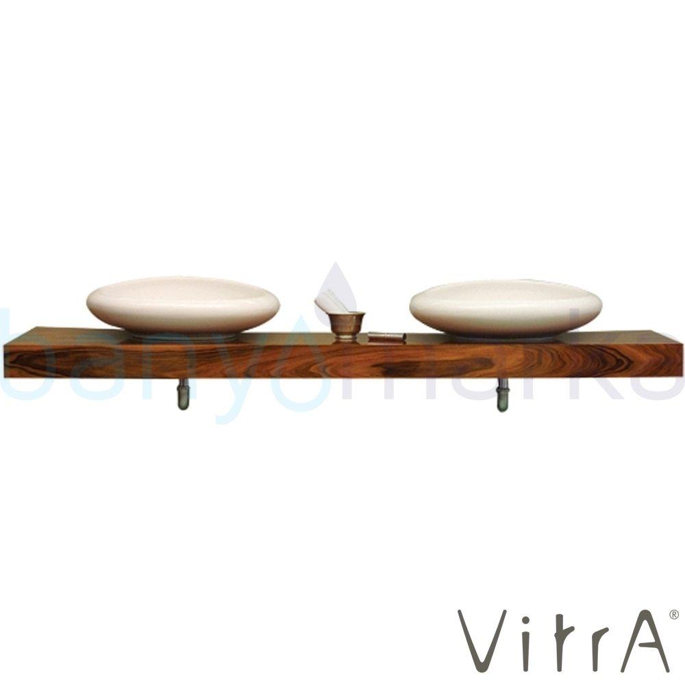Vitra Options Lux Tezgah, 160 cm, Amerikan Ceviz 52232 Lavabo Dolabı