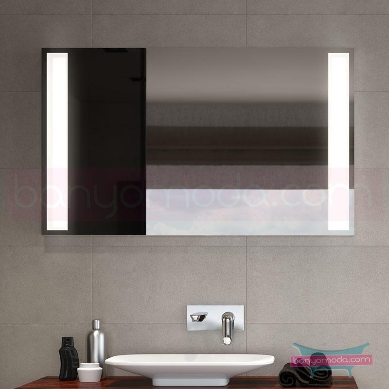 Vitra Options Lux Aydınlatmalı Ayna, 120 cm - 52243 asma estetiğin en yalın ve çarpıcı hali her boyutta banyoya uygun mobilya en uygun fiyatlarla Banyomoda'dan online satın alabilirsiniz.