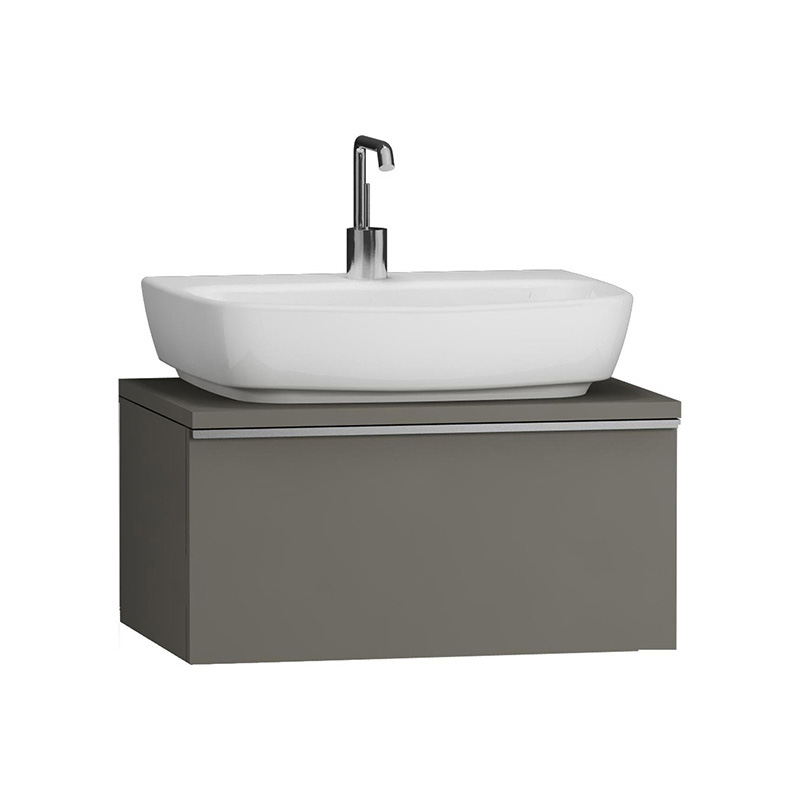 Vitra Shift Geniş Lavabo Dolabı (Sığ), 60 cm, Antrasit 52549 Lavabo Dolabı