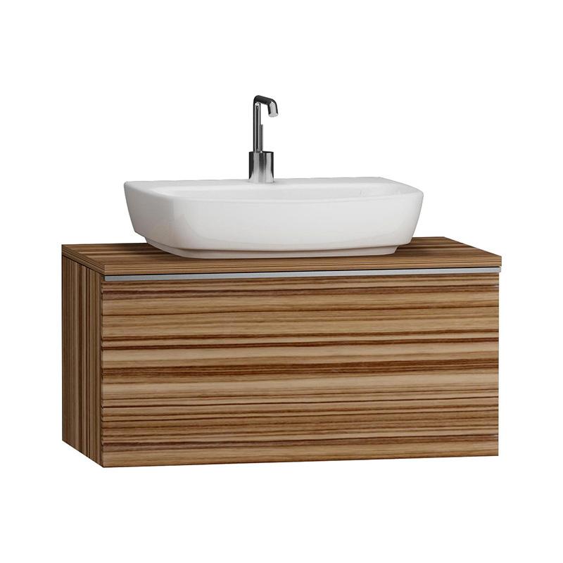 Vitra Shift Geniş Lavabo Dolabı (Derin), 80 cm Zebrano - 52563 asma termoform kaplama kulplu yavaş kapanır çekmeceli büyük banyo alanlarına ekleyeceğiniz ek ünitelerle banyonun fonksiyonelliği arttırın en uygun fiyatlarla Banyomoda'dan online satın alabilirsiniz.