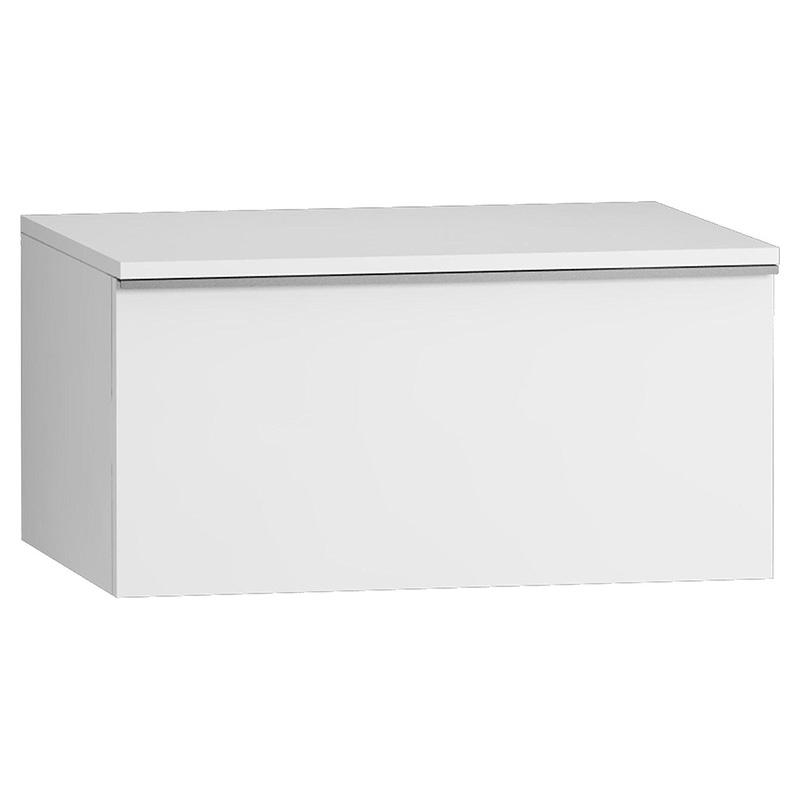 Vitra Shift Geniş Alt Dolap (Sığ), 60 cm, Beyaz 52687 Alt Dolap