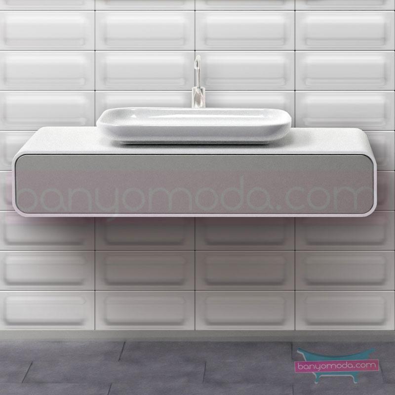 Vitra Mod Lavabo Dolabı, 120 cm - 52744 asma lake kaplama bas aç kapa yavaş kapanır çekmeceli modern tasarımı zarafetle bütünleyen Ross Lovegrove un çok özel koleksiyonudan en uygun fiyatlarla Banyomoda'dan online satın alabilirsiniz.