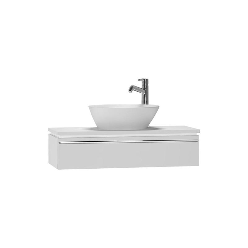 Vitra System Fit Dar Lavabo Dolabı (Sığ), 80 cm, Parlak Beyaz, Bel Kulp 53230 Lavabo Dolabı