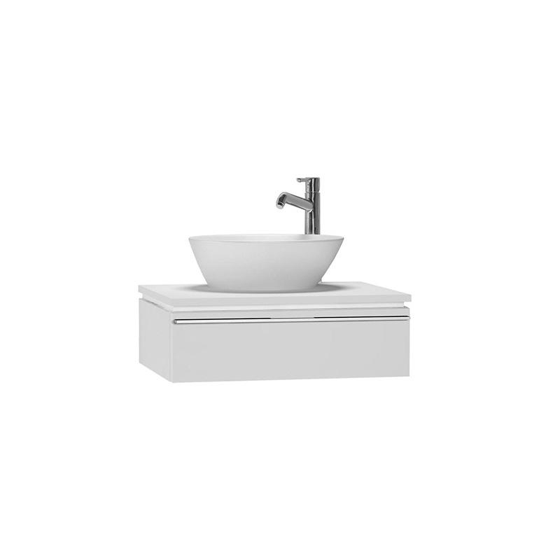 Vitra System Fit Lavabo Dolabı (Sığ), 60 cm, Parlak Beyaz, Bel Kulp 53326 Lavabo Dolabı