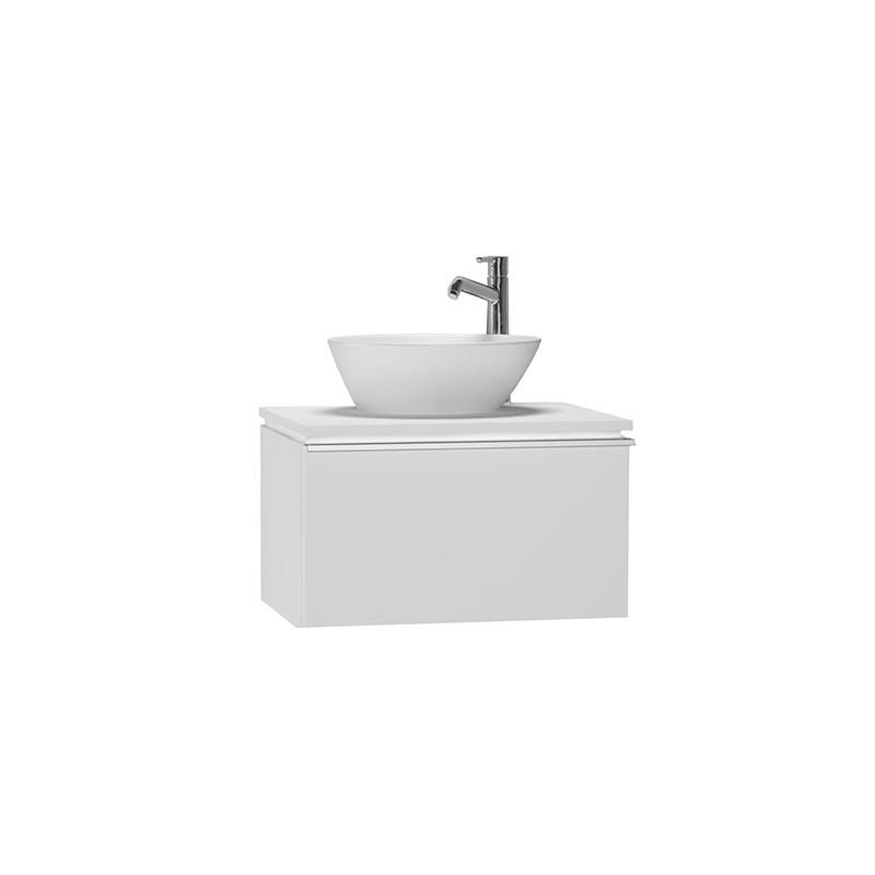 Vitra System Fit Dar Lavabo Dolabı (Derin), 60 cm, Parlak Beyaz, Shift Kulp 53529 Lavabo Dolabı